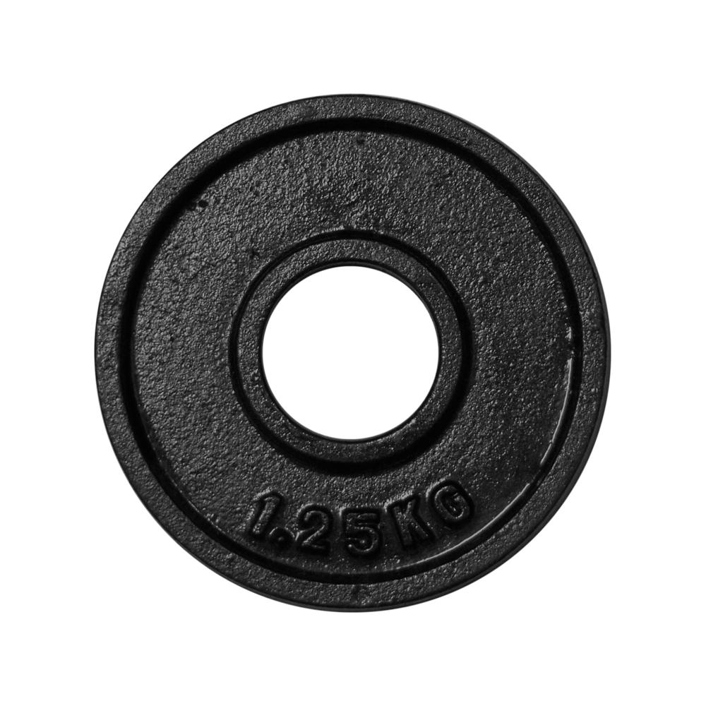 Obciążenie żeliwne olimpijskie Stayer Sport OTB czarne | waga: 1.25kg ÷ 25kg,producent: Stayer Sport, zdjecie photo: 2 | online