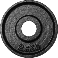 Obciążenie żeliwne olimpijskie Stayer Sport OTB czarne | waga: 1.25kg ÷ 25kg Stayer Sport - 3 | klubfitness.pl | sprzęt sportowy