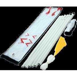 Zestaw do badmintona Spartan Sport | siatka ze słupkami SPARTAN SPORT - 1 | klubfitness.pl