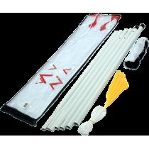 Zestaw do badmintona Spartan Sport   siatka ze słupkami SPARTAN SPORT - 1   klubfitness.pl   sprzęt sportowy sport equipment