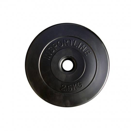 Obciążenie cementowe INSPORTLINE 2,5kg średnica 30mm czarne Insportline - 1 | klubfitness.pl