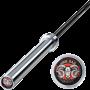 Gryf olimpijski 220cm LH-50-ATX-PLB ATX® | RAM BAR Power Lifting ATX® - 1 | klubfitness.pl