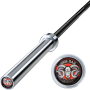 Gryf olimpijski prosty 220cm ATX LH-50-ATX-PLB | Power Lifting RAM BAR,producent: ATX, zdjecie photo: 1 | online shop klubfitnes