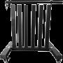 Stojak na hantle fitness Sveltus 1527 Black | na kółkach,producent: Sveltus, zdjecie photo: 1 | klubfitness.pl | sprzęt sportowy