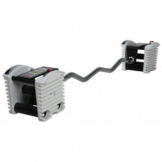 Gryf łamany 118cm PowerBlock PBBAREZ | modułowy system obciążeń uretanowych PowerBlock - 1 | klubfitness.pl