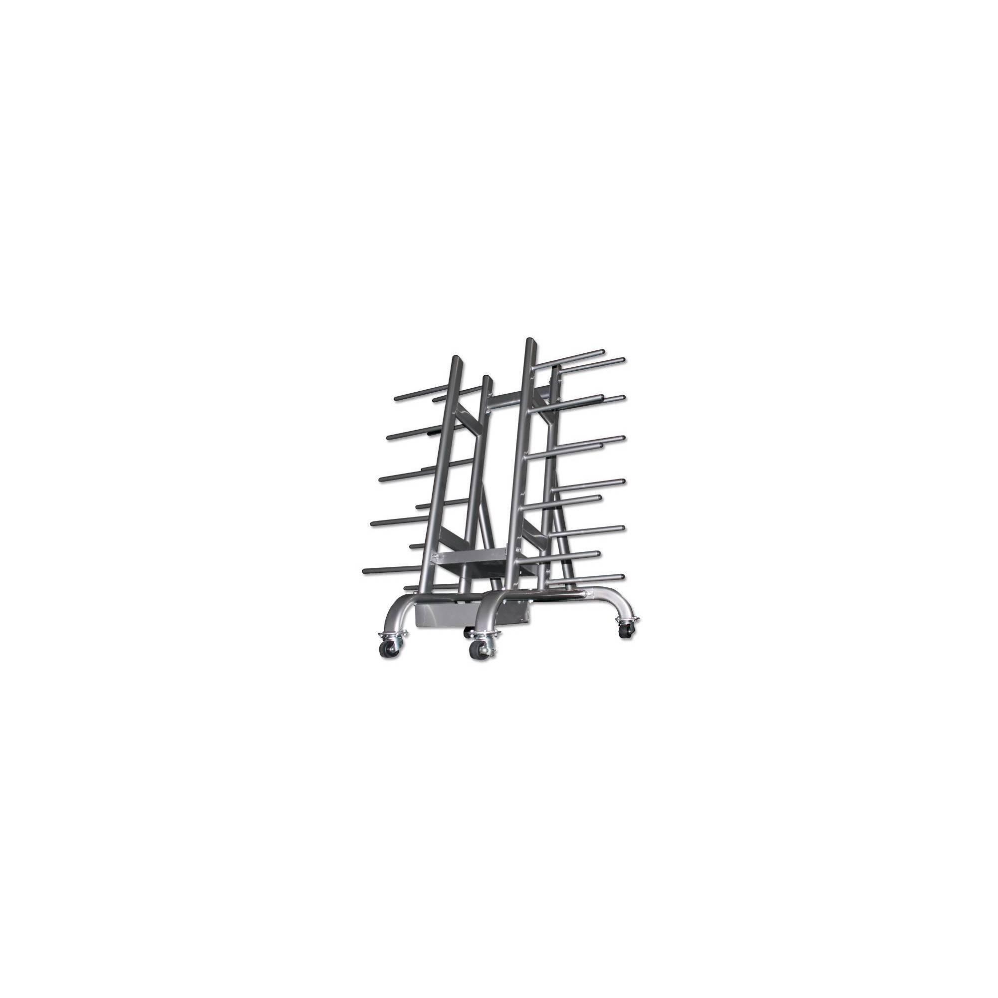 Stojak na zestawy body pump Ironsports R-3090 silver | na 30 zestawów,producent: IRONSPORTS, zdjecie photo: 2 | online shop klub