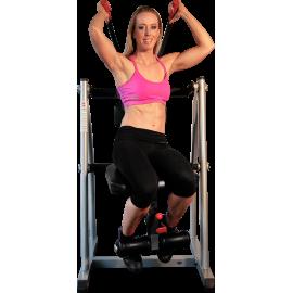Stanowisko na mięśnie brzucha Total AbCrunch GAB400 | mięśnie proste skośne brzucha AbCrunch - 1 | klubfitness.pl | sprzęt sport