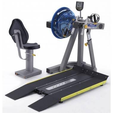 Trenażer z napędem wodnym E920 UBE medyczny | ergometr górnych kończyn First Degree Fitness - 2 | klubfitness.pl | sprzęt sporto