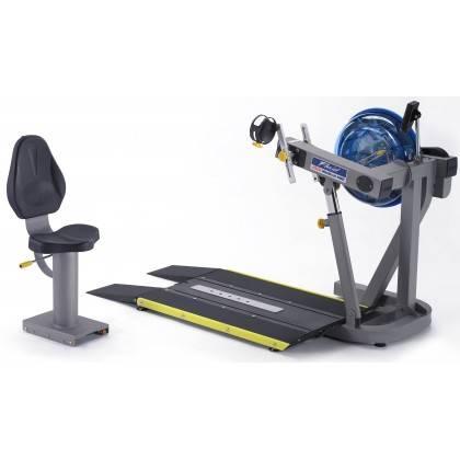 Trenażer z napędem wodnym E920 UBE medyczny | ergometr górnych kończyn First Degree Fitness - 3 | klubfitness.pl | sprzęt sporto