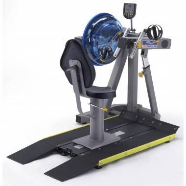 Trenażer z napędem wodnym E920 UBE medyczny | ergometr górnych kończyn First Degree Fitness - 4 | klubfitness.pl | sprzęt sporto