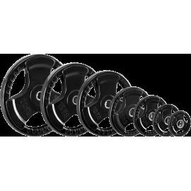Obciążenie gumowane Ironsports 30-GR-R| waga: 0,5kg ÷ 20kg IRONSPORTS - 10 | klubfitness.pl