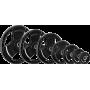 Obciążenie gumowane Ironsports 30-GR-R| waga: 0,5kg ÷ 20kg IRONSPORTS - 1 | klubfitness.pl | sprzęt sportowy sport equipment