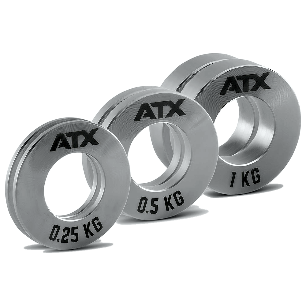 Obciążenia stalowe olimpijskie fractional ATX® FRP-ST | waga: 0,25kg ÷ 1,0kg ATX® - 1 | klubfitness.pl