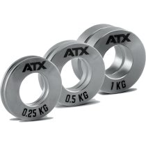 Obciążenia stalowe olimpijskie fractional ATX® FRP-ST | waga: 0,25kg ÷ 1,0kg,producent: ATX, zdjecie photo: 1 | online shop klub