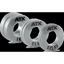 Obciążenia stalowe olimpijskie fractional ATX® FRP-ST | waga: 0,25kg ÷ 1,0kg ATX® - 2 | klubfitness.pl