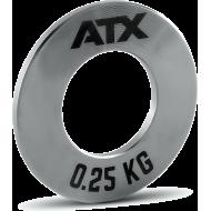 Obciążenia stalowe olimpijskie fractional ATX® FRP-ST | waga: 0,25kg ÷ 1,0kg ATX® - 3 | klubfitness.pl