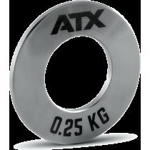 Obciążenia stalowe olimpijskie fractional ATX® FRP-ST | waga: 0,25kg ÷ 1,0kg,producent: ATX, zdjecie photo: 3 | online shop klub