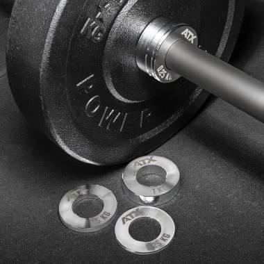Obciążenia stalowe olimpijskie fractional ATX® FRP-ST | waga: 0,25kg ÷ 1,0kg ATX® - 10 | klubfitness.pl