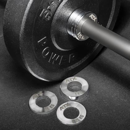 Obciążenia stalowe olimpijskie fractional ATX® FRP-ST | waga: 0,25kg ÷ 1,0kg,producent: ATX, zdjecie photo: 10 | online shop klu