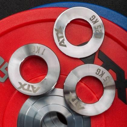 Obciążenia stalowe olimpijskie fractional ATX® FRP-ST | waga: 0,25kg ÷ 1,0kg ATX® - 11 | klubfitness.pl