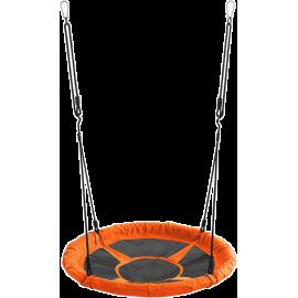 Huśtawka ogrodowa dla dzieci Spartan Sport bocianie gniazdo | pomarańczowa SPARTAN SPORT - 1 | klubfitness.pl
