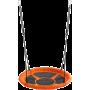 Huśtawka ogrodowa dla dzieci Spartan Sport bocianie gniazdo | pomarańczowa SPARTAN SPORT - 5 | klubfitness.pl