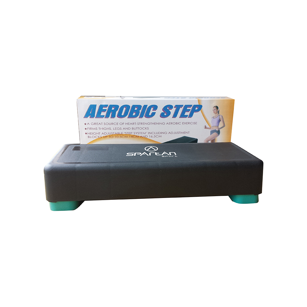 Step do aerobiku Spartan Sport | 65x28cm | wysokość 11-14-17cm SPARTAN SPORT - 1 | klubfitness.pl | sprzęt sportowy sport equipm