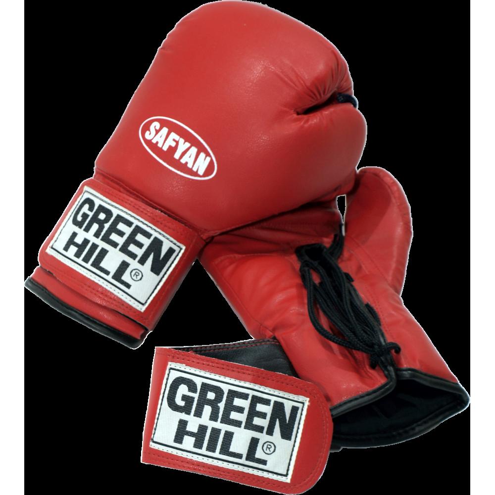 Rękawice bokserskie Green Hill Safyan 10oz | czerwone,producent: GREEN HILL, zdjecie photo: 1 | online shop klubfitness.pl | spr