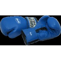 Rękawice bokserskie Green Hill Safyan 10oz   niebieskie GREEN HILL - 3   klubfitness.pl   sprzęt sportowy sport equipment