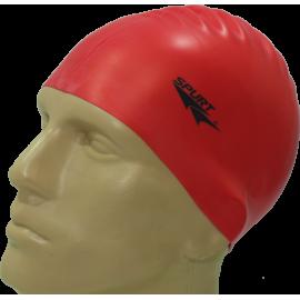 Czepek silikonowy do pływania Spurt G511 | czerwony,producent: Spurt, zdjecie photo: 1 | klubfitness.pl | sprzęt sportowy sport