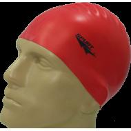 Czepek silikonowy do pływania Spurt G511 | czerwony,producent: Spurt, zdjecie photo: 1 | online shop klubfitness.pl | sprzęt spo