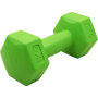 Hantla fitness cementowa Stayer Sport Hex 1kg   bitumiczna,producent: Stayer Sport, zdjecie photo: 1   online shop klubfitness.p