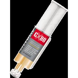 Klej epoksydowy dwuskładnikowy CX80 Silv Weld | aplikator 24ml,producent: CX-80, zdjecie photo: 1 | online shop klubfitness.pl |
