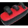 Tarcza trenerska Fighter 33x16x10cm | skóra PU FIGHTER - 2 | klubfitness.pl | sprzęt sportowy sport equipment