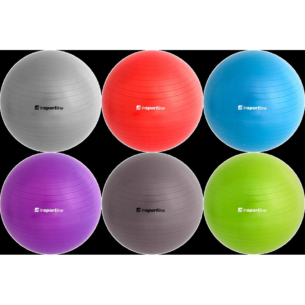Piłka gimnastyczna gładka Insportline Top Ball 45cm,producent: Insportline, zdjecie photo: 11 | klubfitness.pl | sprzęt sportowy