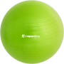 Piłka gimnastyczna gładka Insportline Top Ball 65cm | zielona Insportline - 2 | klubfitness.pl | sprzęt sportowy sport equipment