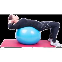 Piłka gimnastyczna gładka Insportline Top Ball 85cm | fioletowa,producent: Insportline, zdjecie photo: 2 | online shop klubfitne