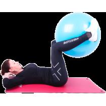 Piłka gimnastyczna gładka Insportline Top Ball 85cm | fioletowa,producent: Insportline, zdjecie photo: 3 | online shop klubfitne
