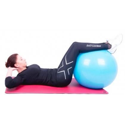 Piłka gimnastyczna gładka Insportline Top Ball 85cm | fioletowa,producent: Insportline, zdjecie photo: 4 | online shop klubfitne