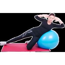 Piłka gimnastyczna gładka Insportline Top Ball 85cm | fioletowa,producent: Insportline, zdjecie photo: 5 | online shop klubfitne