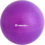 Piłka gimnastyczna gładka Insportline Top Ball 85cm | fioletowa,producent: Insportline, zdjecie photo: 2 | klubfitness.pl | sprz