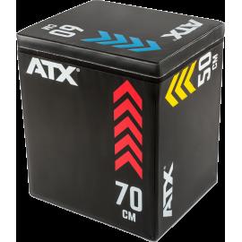 Skrzynia plyometryczna ATX® Soft Plyo-Box | 50x60x70cm,producent: ATX, zdjecie photo: 1 | klubfitness.pl | sprzęt sportowy sport