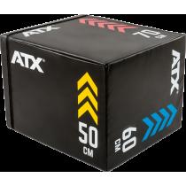 Skrzynia plyometryczna ATX® Soft Plyo-Box | 50x60x70cm,producent: ATX, zdjecie photo: 2 | online shop klubfitness.pl | sprzęt sp