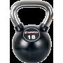 Hantla gumowana kettlebell Insportline Profi 18kg | chromowana rękojeśc Insportline - 1 | klubfitness.pl