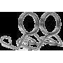 Zaciski olimpijskie sprężynowe 50mm Body-Solid OLCLIP | para Body-Solid - 1 | klubfitness.pl