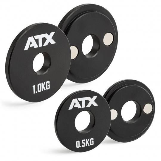 Obciążenia magnetyczne dociążeniowe ATX® MW-000 | waga: 0,5kg ÷ 1,0kg ATX - 7 | klubfitness.pl | sprzęt sportowy sport equipment