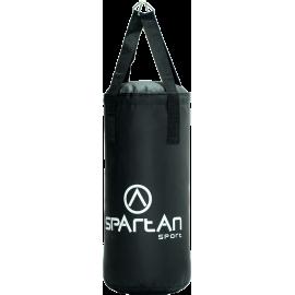 Worek bokserski 50x25cm Spartan Sport | czarny | skóra PU SPARTAN SPORT - 1 | klubfitness.pl | sprzęt sportowy sport equipment