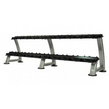 Stojak na hantle Ironsports R-3075-HS silver | 2 poziomy | 125cm ÷ 500cm,producent: IRONSPORTS, zdjecie photo: 2 | online shop k