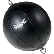 Gruszka bokserska na gumach Allright Black 23cm FIGHTER - 1 | klubfitness.pl