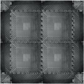 Podłoga gumowa puzzle inSPORTline 140x140x1,2cm | czarna Insportline - 2 | klubfitness.pl
